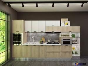澳都厨柜衣柜图片苏黎世 北欧简约风橱柜效果图