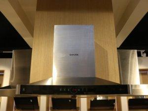 樱花整体厨房·衣柜图片SCR-D801 现代风油烟机效果图