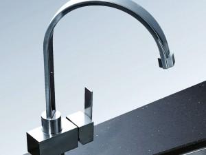 阿发厨具图片AF-808BAPR 现代风格厨房水槽效果图