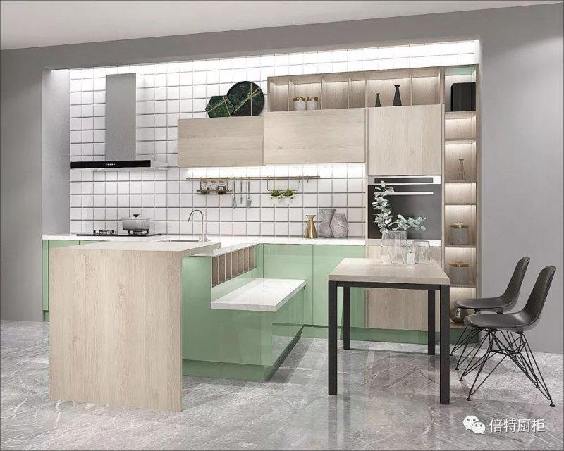 倍特厨柜图片 现代简约风格橱柜效果图
