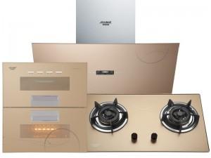 奥林格电器图片 现代风格厨房油烟机套装效果图