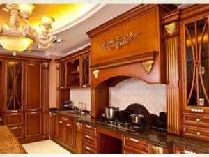 圣芭乐原木世家·全房定制图片 欧式古典风格橱柜效果图