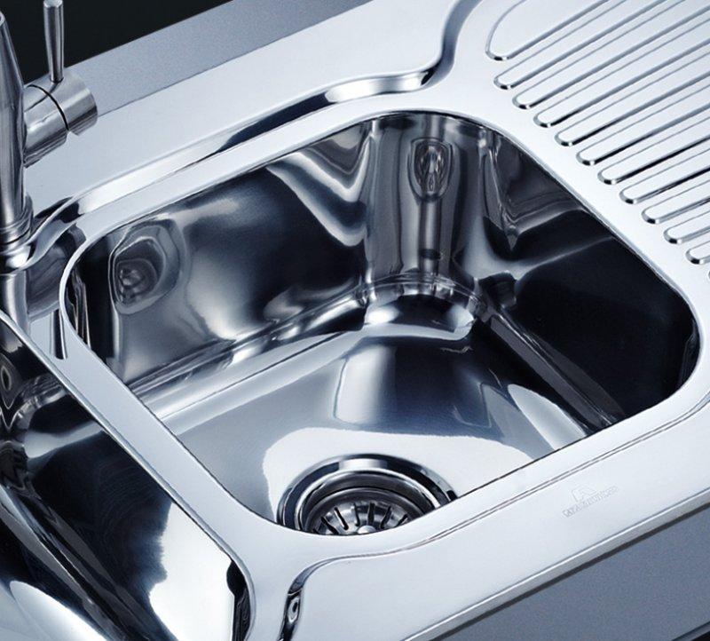 阿发厨具图片AF-1230 现代风格厨房水槽效果图