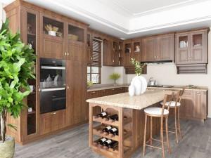 安泊厨柜|全屋定制 密苏里系列产品效果图