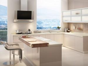 易佰利厨柜图片 现代简约风格橱柜效果图