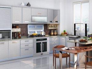 易佰利厨柜图片 现代简约风橱柜效果图