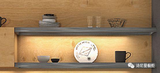 诗尼曼橱柜图片锦瑟华年 新中式风格橱柜效果图
