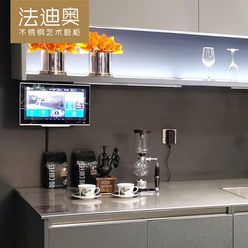 法迪奥不锈钢艺术厨柜 翱翔系列产品效果图