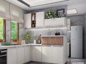 司米橱柜图片 现代简约风格橱柜效果图