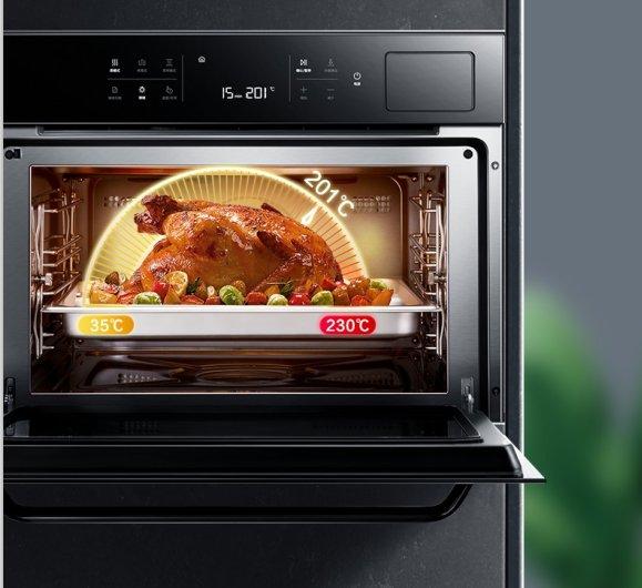 老板电器图片 老板蒸烤一体CQ975装修效果图