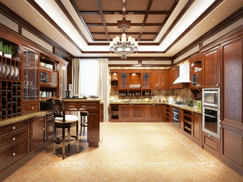 班贝格不锈钢厨柜图片 轻奢风格不锈钢厨柜橱柜效果图