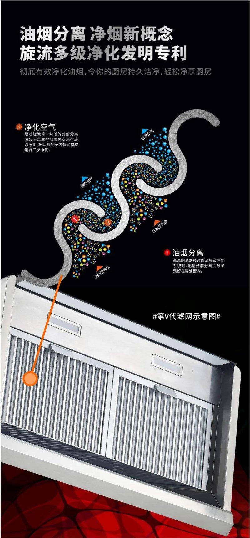 威力电器图片J8079 魔幻系列吸油烟机效果图