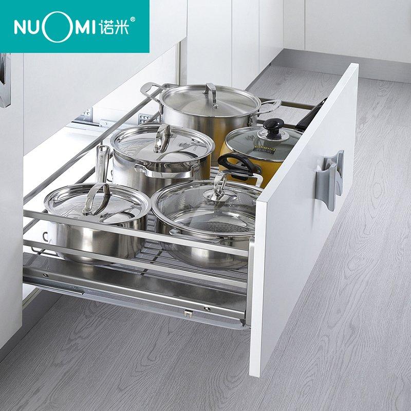 諾米家居五金圖片香檳玫瑰系列  廚房櫥柜碗碟籃效果圖