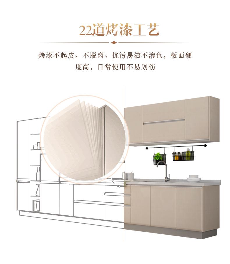 金牌厨柜图片 整体橱柜装修效果图