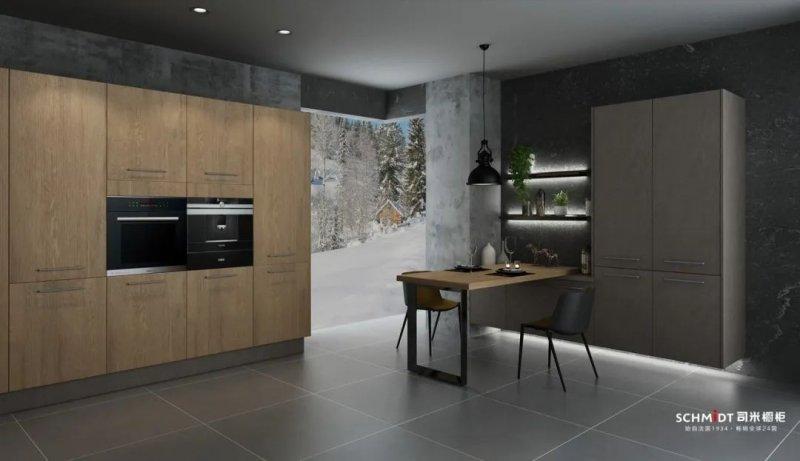 司米橱柜图片 简约清洗风格厨房装修效果图