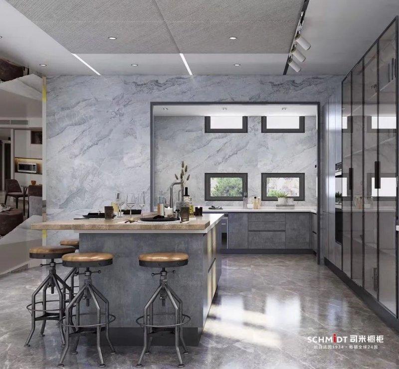 司米橱柜图片 厨房橱柜装修效果图
