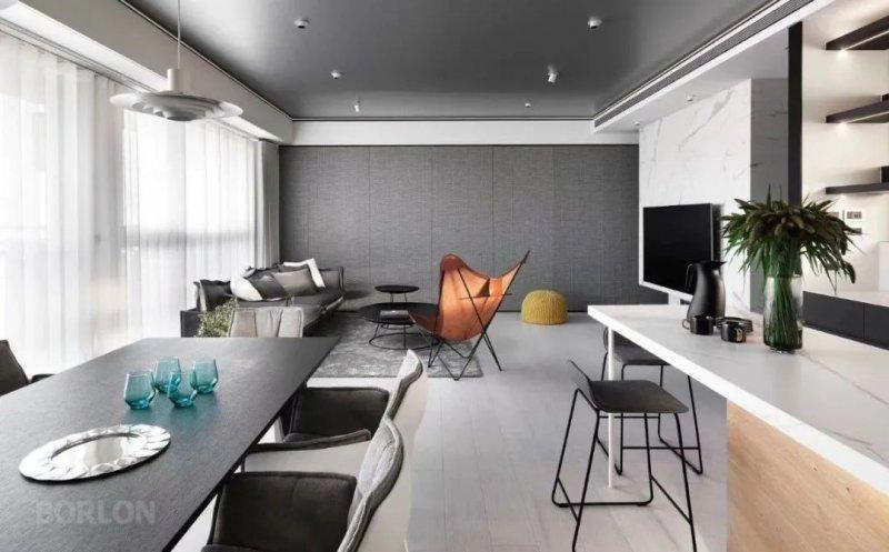 柏林世家全屋定制图片 现代简约风厨房装修效果图