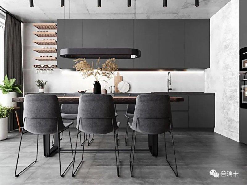 普瑞卡家居图片 厨房橱柜装修效果图