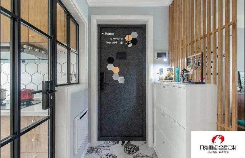 月兔橱柜图片 现代简约家居装修效果图_9