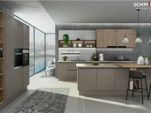 司米橱柜图片 开放式厨房装修效果图