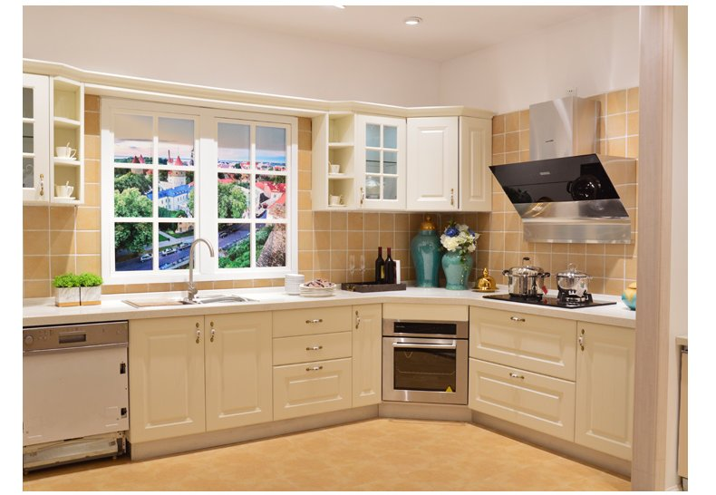 澳都厨柜衣柜图片  现代开放式厨柜装修效果图_13