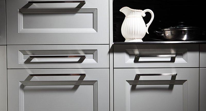 卡利亚不锈钢橱柜 大气美式 维罗妮卡 产品效果图