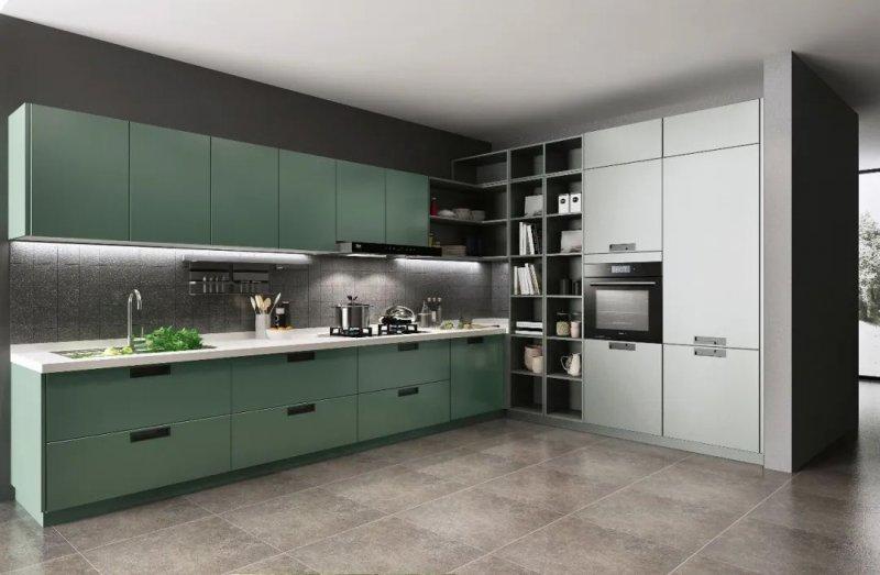 司米橱柜厨房装修图片 现代简约风格效果图