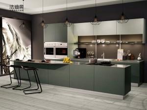 法迪奥不锈钢艺术厨柜 X015 产品图