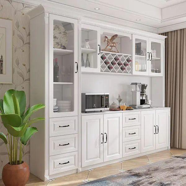 澳比德全屋定制餐边柜设计图片 现代简约装修效果图
