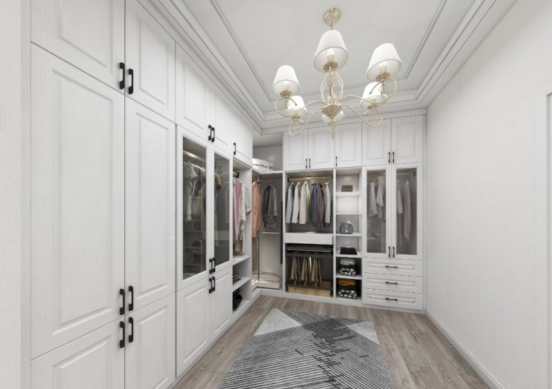 澳都厨柜衣柜图片 别墅装修效果图