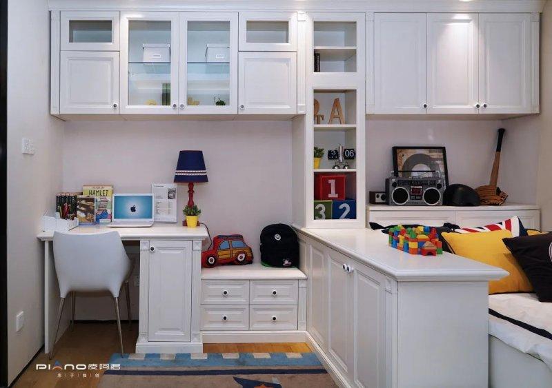 皮阿诺橱柜产品图片 儿童房设计效果图_5