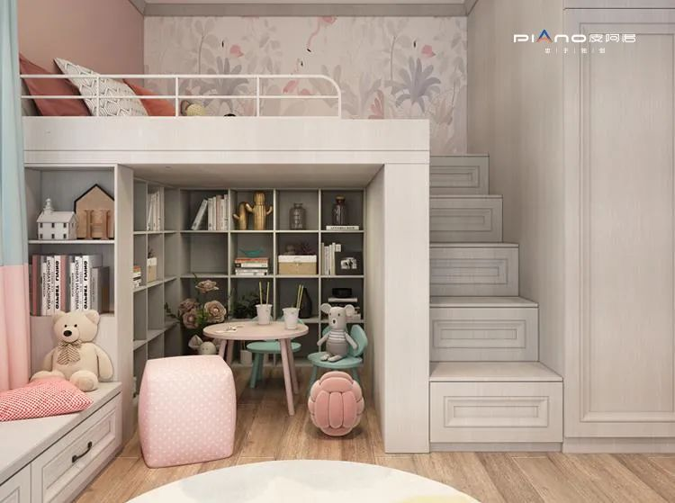 皮阿诺橱柜产品图片 儿童房设计效果图_1