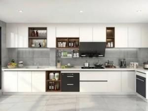司米橱柜L型厨房系列图片 简约风装修效果图