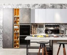 澳都厨柜图片 厨房布局效果图