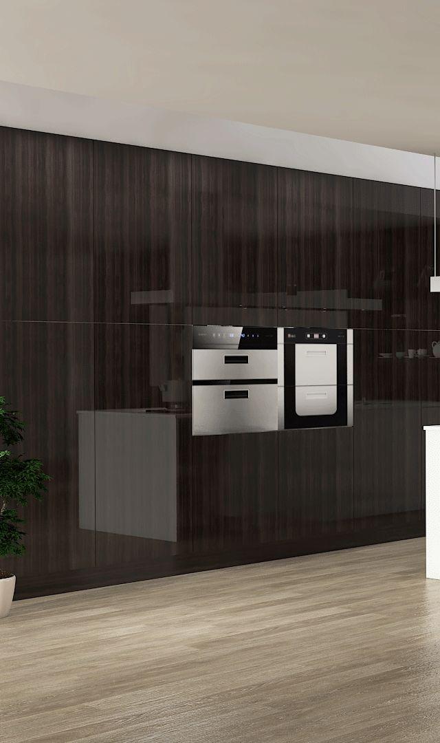 好兆头厨柜高级系列图片 现代风装修效果图_3