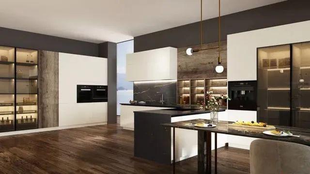 好兆头厨柜高级系列图片 现代风装修效果图_6