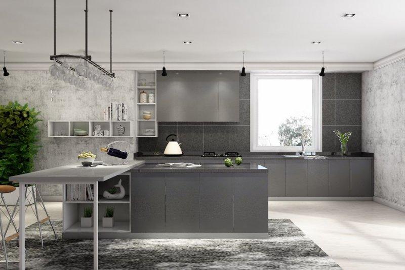 好兆头厨柜高级系列图片 现代风装修效果图_2