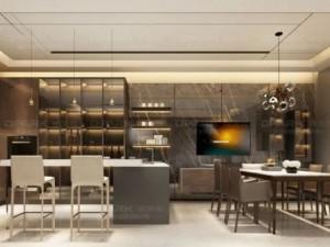 德派克全铝橱柜铝合金家居系列 现代风装修效果图