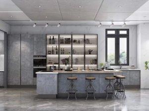 司米橱柜轻奢系列图片 现代风装修效果图