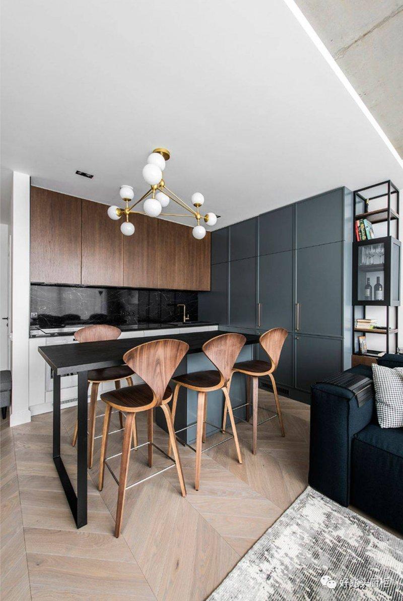 好兆头厨柜小户型餐厅系列图片 欧式风装修效果图_9