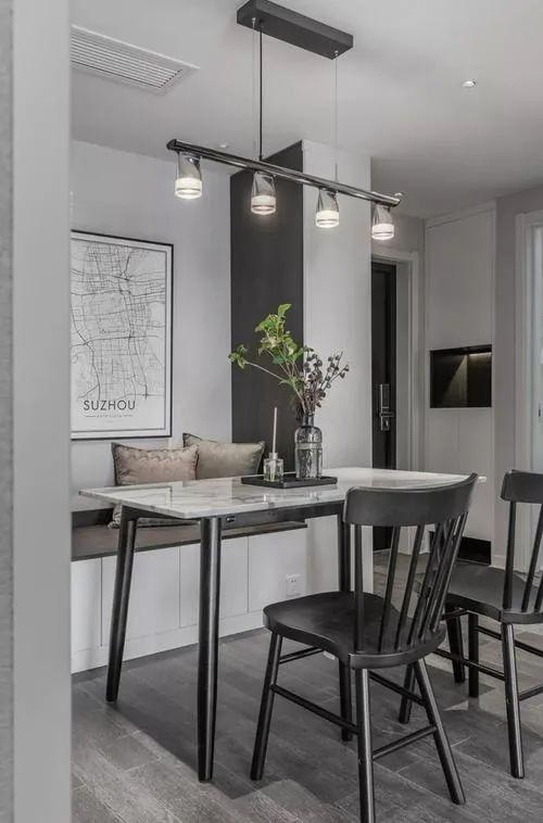 好兆头厨柜小户型餐厅系列图片 欧式风装修效果图_5