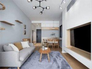 澳比德全屋定制二居室图片 室内设计效果图