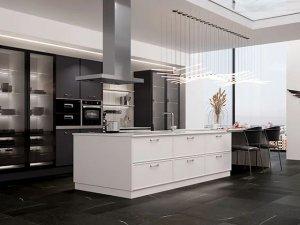 司米橱柜厨房多种风格装修设计效果图