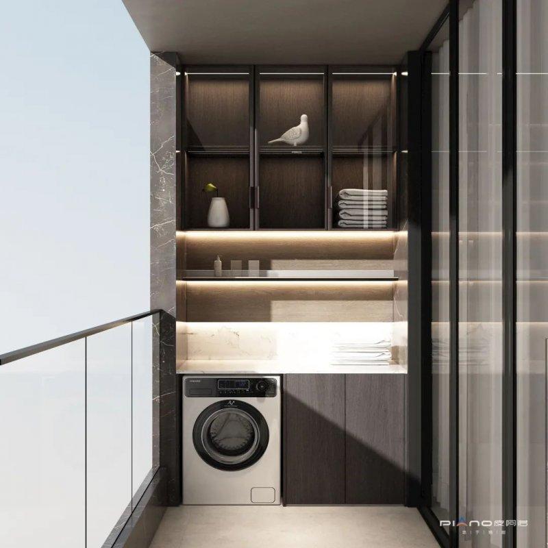 皮阿诺橱柜卫生间和阳台设计效果图_17