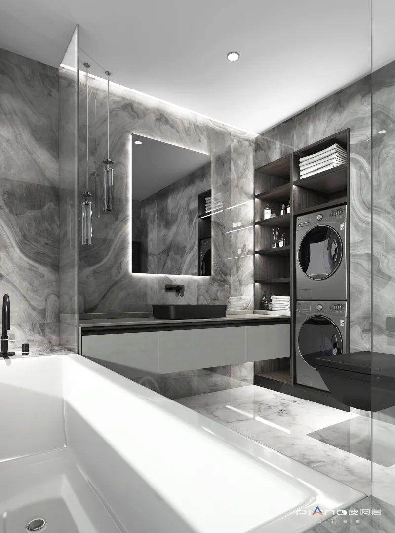 皮阿诺橱柜卫生间和阳台设计效果图_1