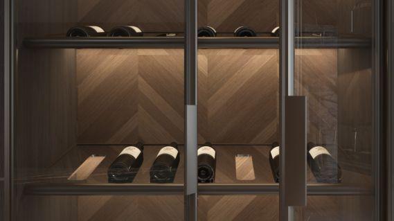 皮阿诺橱柜•全屋定制现代简约风客厅设计效果图_5
