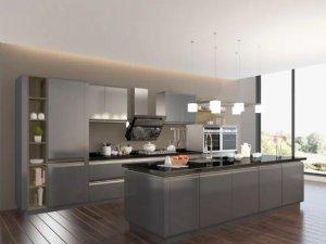 司米橱柜烤漆产品系列图片 现代风装修效果图