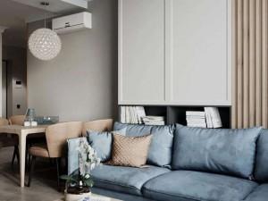 欧普厨柜两居室现代风装修效果图