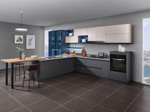 司米橱柜厨房系列图片 简约风格装修效果图