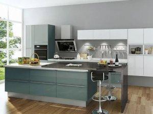 司米橱柜厨房系列产品图片 北欧风格装修效果图